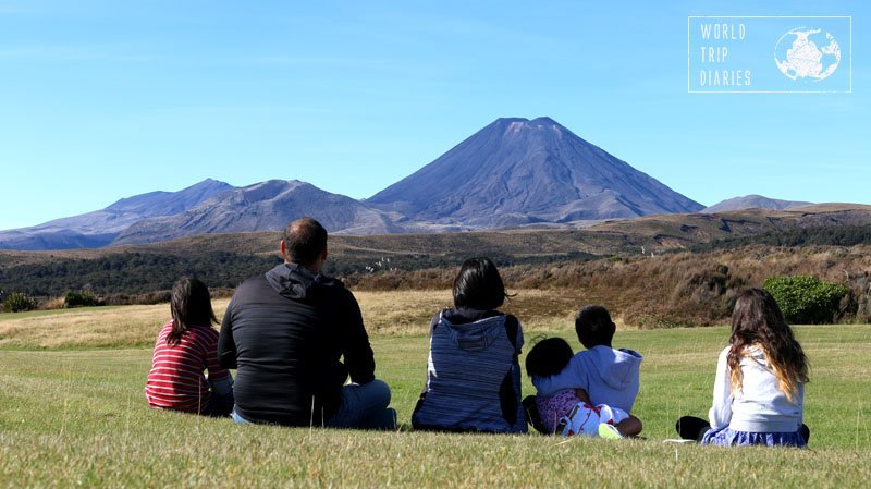 Mount Ngauruhoe, in Tongariro National Park Village, NZ, is absolutely stunning! Great place to take your kids to!