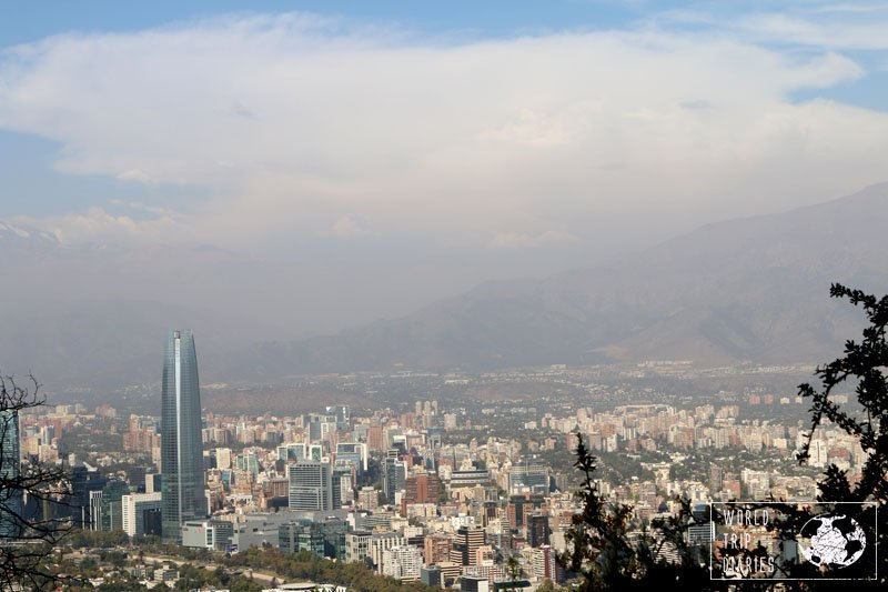 If you're planning on visiting Chile, you'll probably stop in Santiago. Take sometime to visit the Andes and one of the great hill lookouts in the city.