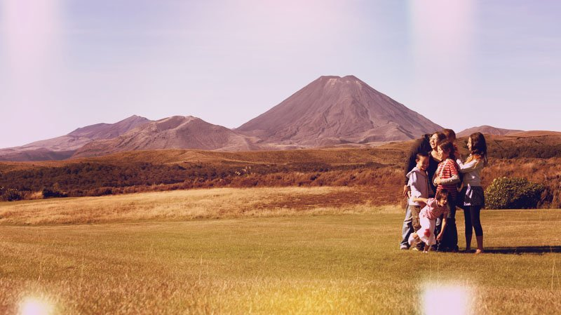 Volcanos, mountains, rivers, waterfalls: it's all in Tongariro National Park. Great family friendly place!