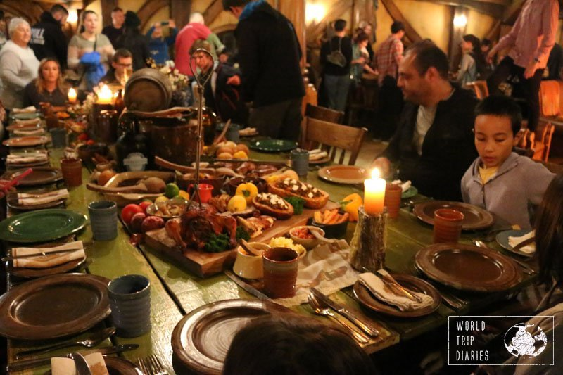 Ever thought about having dinner in Hobbiton, NZ? You can! We did and you can read all about it here!