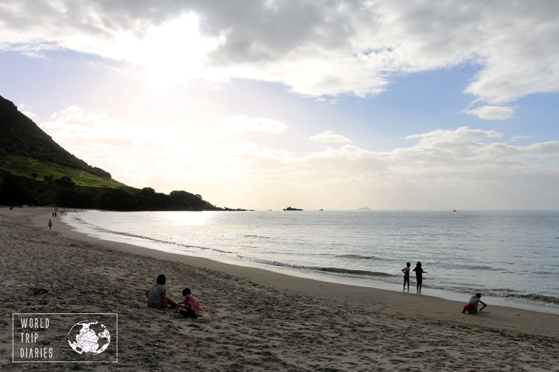 Mount Maunganui's (NZ) beaches are great for bathing and sunset watching. Click for more!