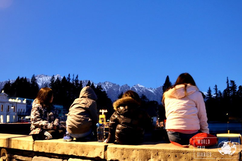 There's something magic about snow capped mountains. Queenstown during winter was stunning, even the kids thought so!