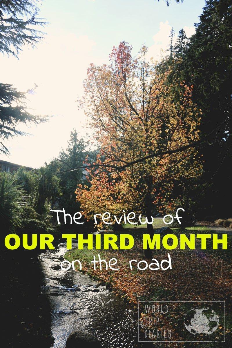 Chegamos no terceiro mês de viagem direto com crianças! Clique para ver como foi!