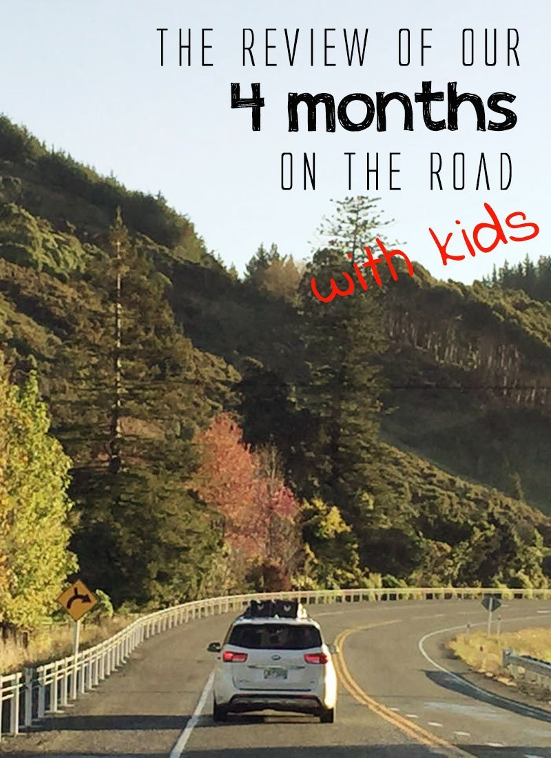 See how our first 4 months of traveling full time with kids were like!