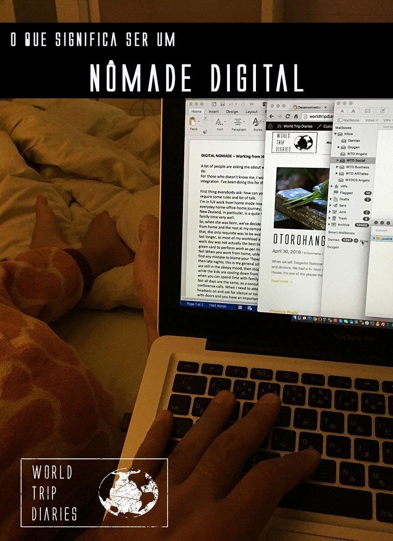 Já pensou trabalhar de casa, enquanto viaja, na hora que quiser? Veja o que significa ser um nômade digital