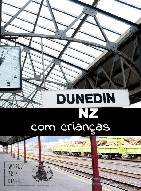 Dunedin é um destino popular na Ilha Sul da NZ. Clique para saber o que tem para ver, fazer e comer por lá!