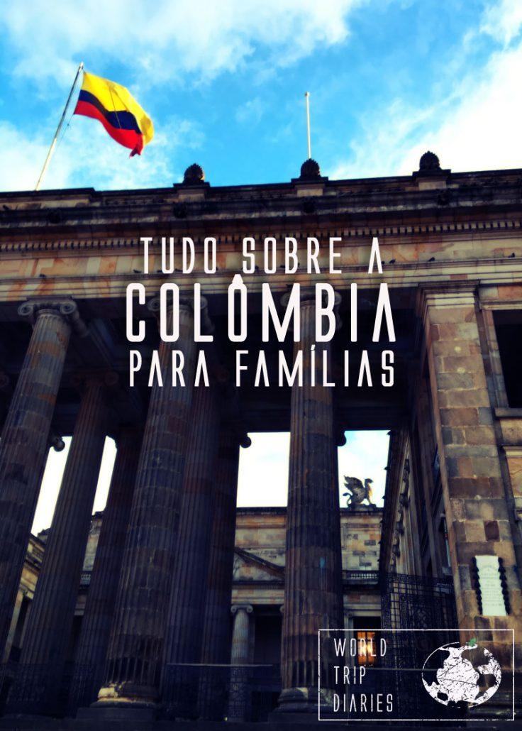 A Colômbia, na América do Sul, é um país incrível, destino perfeito para as férias em família! Saiba mais!