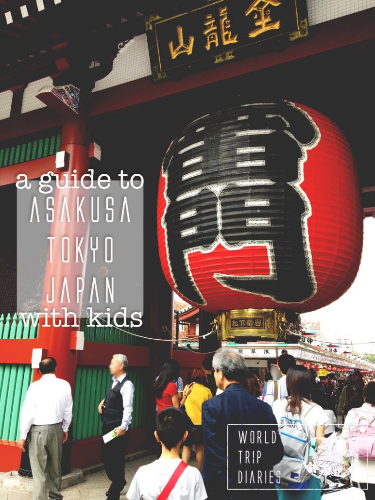 Asakusa is famous in Japan because of its temples - the biggest ones in Tokyo. We visited it with our kids. Click to know how it went! #asakusa #tokyo #japan #travel #familytravel