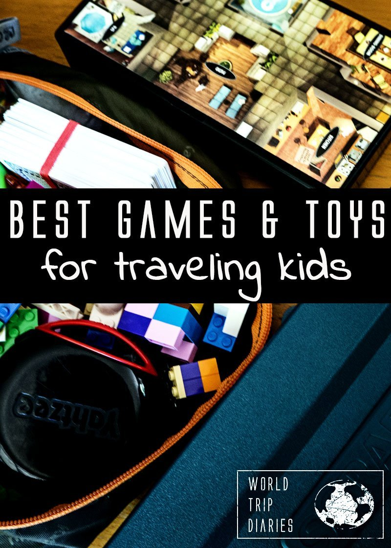 Top Travel Toys Games For Kids : Best games and plays for kids who travel world trip diaries