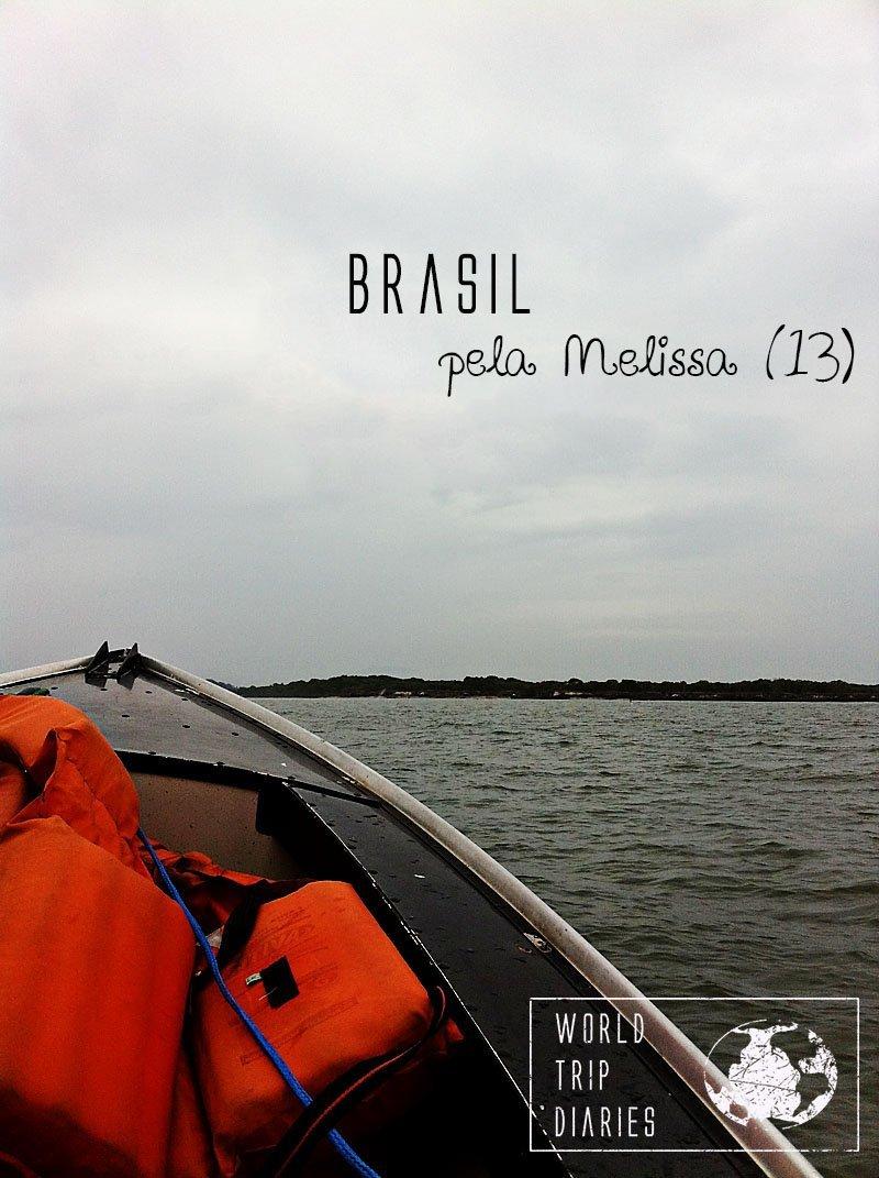A visão da Melissa, de 13 anos, sobre a viagem ao Brasil.