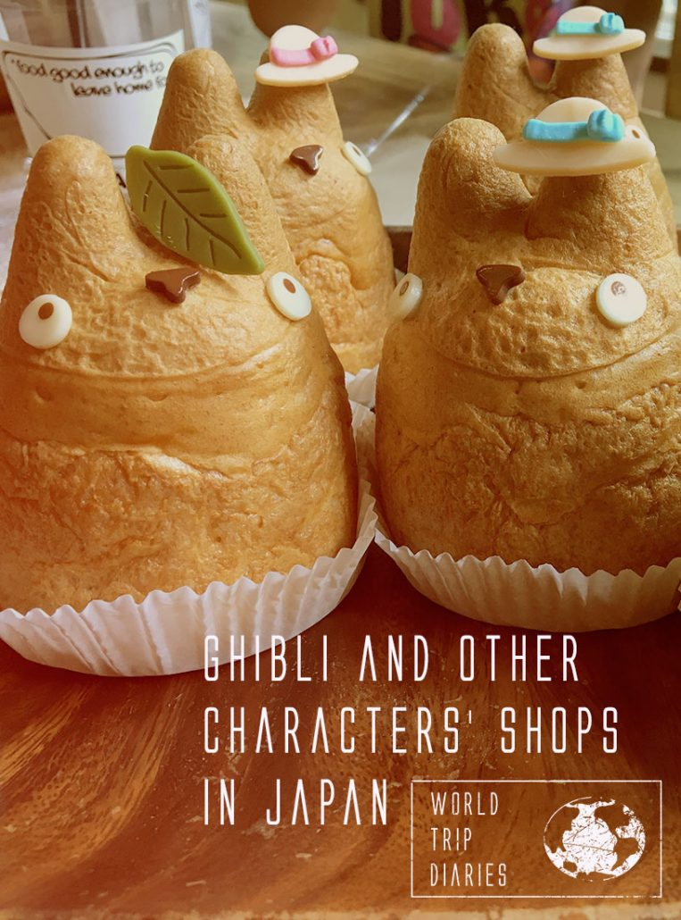 The Totoro cream puffs in Tokyo, Japan. If you like characters, like Totoro, No face, Snoopy, Hello Kitty, Gudetama, click on this page to know where to find the best character stores in Japan!