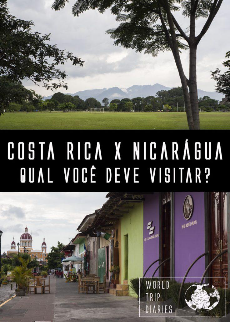 Tentando decidir entre a Costa Rica e a Nicarágua? A gente está aqui para isso! Clique para escolher direitinho!