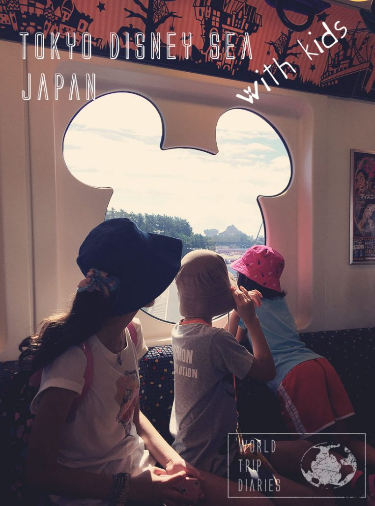 We visited Disney Sea, in Tokyo, Japan, with our kids! Click here to know how it was!