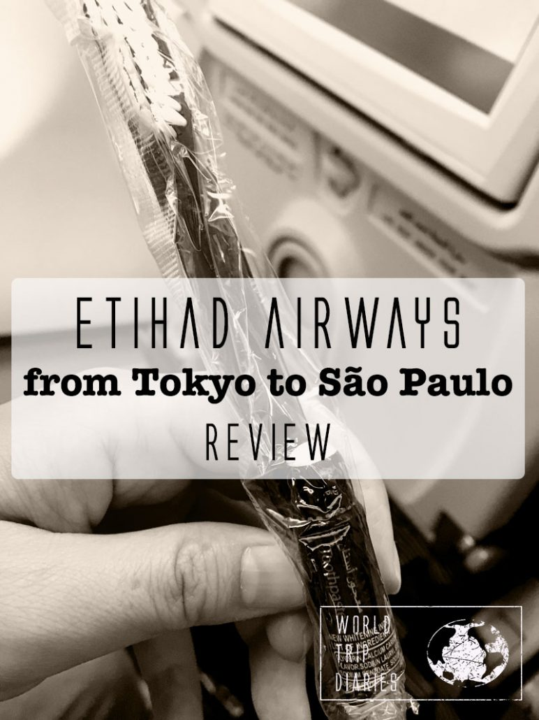 We flew Etihad from Tokyo to Sao Paulo (Brazil). It was a long trip, of over 24 hours, with 4 kids. Not everything was great but here's our full review!