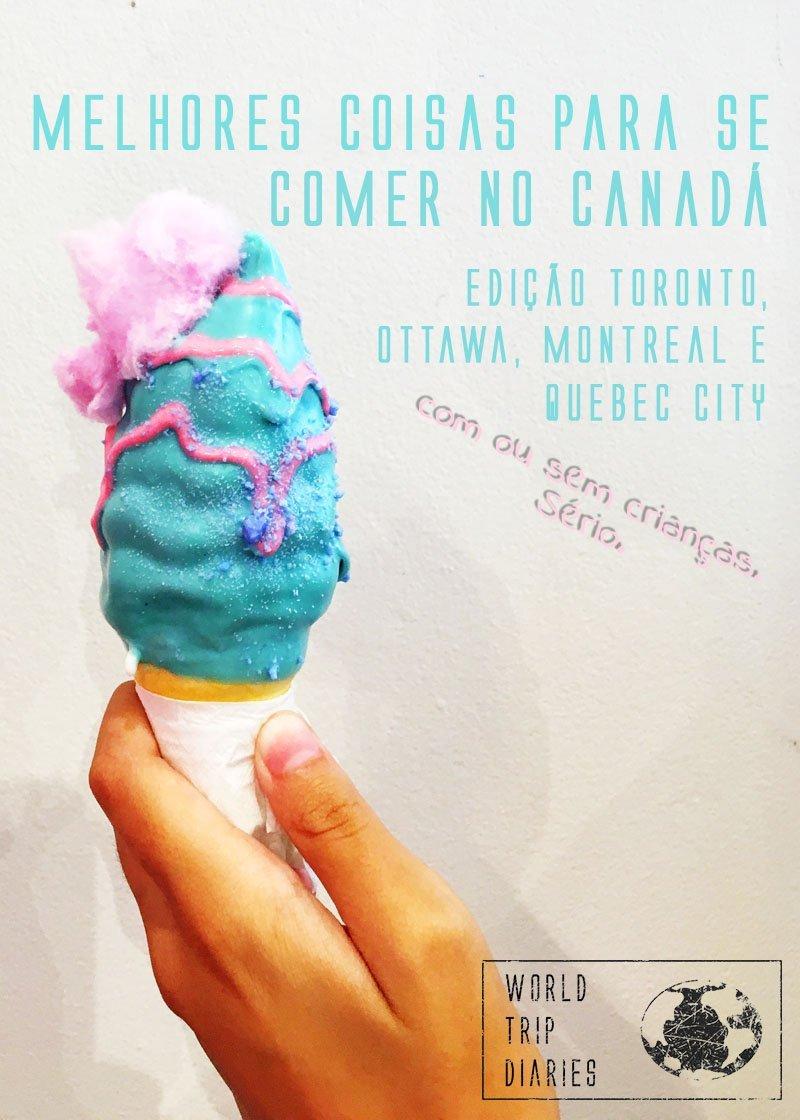 Testamos muitos restaurantes - só por motivos de pesquisa, claro - e escolhemos as melhores comidas do Canadá. Além disso, ainda fizemos uma lista com os melhores poutines do país. Clique para saber mais!