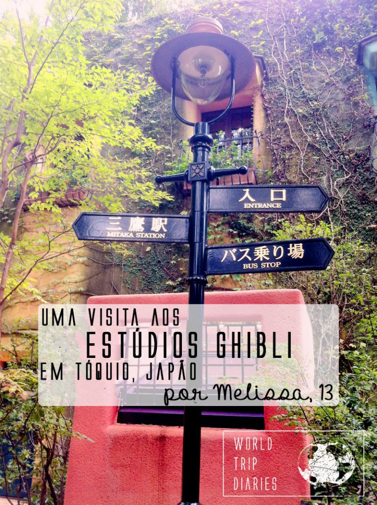 Uma menina de 13 anos conta sobre a visita que fez ao Museu Ghibli, no Japão.