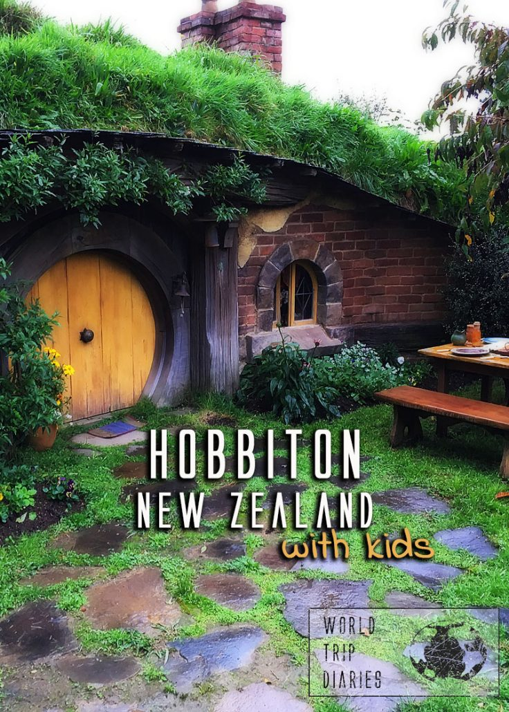 If you're wondering how child-friendly is Hobbiton, then I have here your answer! We visited with tweens and toddlers! It's a must for everyone visiting New Zealand North Island, for sure! #hobbiton #newzealand #familytravel #familytrip #northislandnz