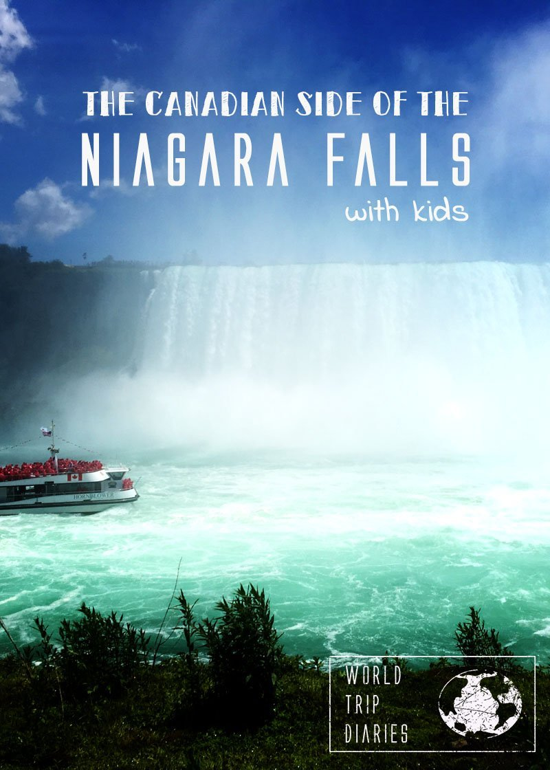 Niagara Falls, Ontario, Canada, with kids