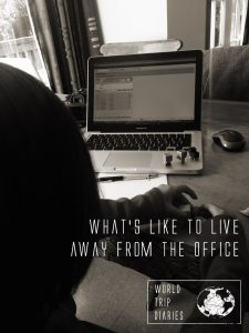 Working on a regular job, but at home or traveling, is a dream to many people. It's not impossible either. Click to read what's it like to live away from the office