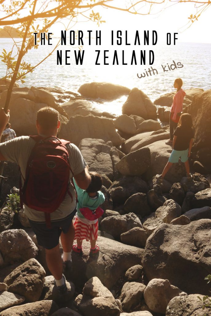 Find out what to see in New Zealand - North Island with kids. There's a lot to fill up a lot more than a month! Click for more!