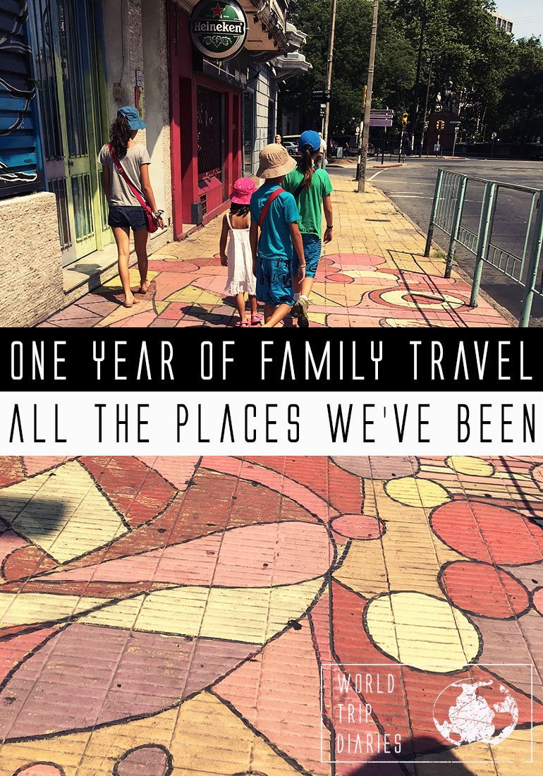 How many places can one visit within a year? What if they were travelling with kids? Click to know!