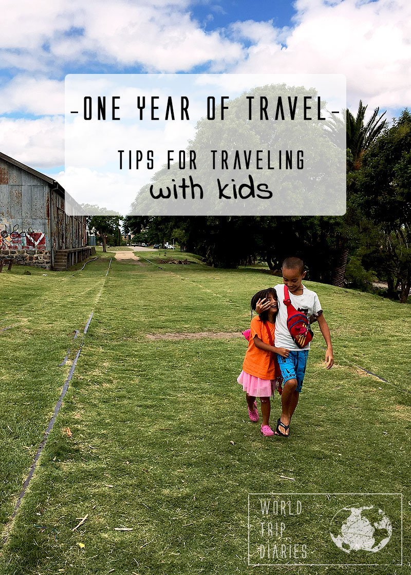 We've been traveling with kids for over a year, and we are sharing a few tips to make traveling easier for families!
