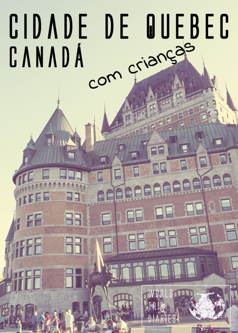 A Cidade de Quebec, no Canadá, é um dos lugares mais lindos do mundo. Além de linda, é segura, limpa, tem uma diversidade enorme, e agrada à família toda. Clique para ler mais!