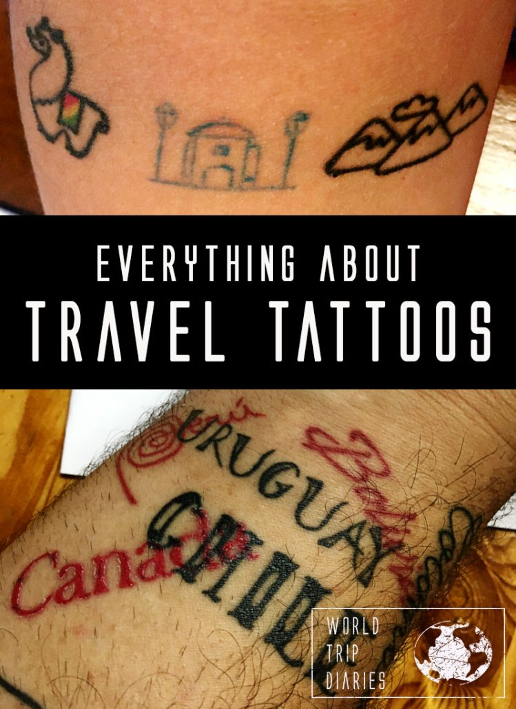 The best souvenir in the world is a tattoo. YES! It's unique, it's lightweight, it's forever! Click for a few ideas!