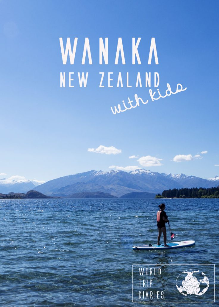 Wanaka is a city on the South Island of New Zealand. It's small, beautiful, and cozy. It has a lake and a lot of mountains. We visited it with our kids. Click for more!