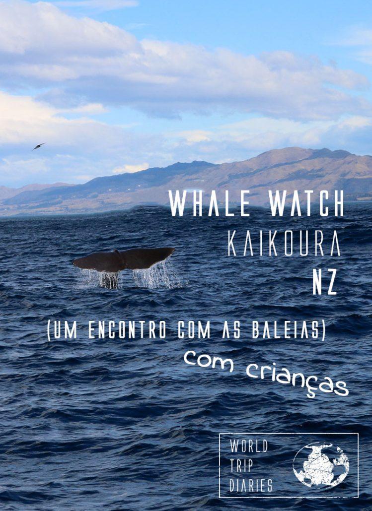 Tivemos o nosso primeiro encontro com as baleias em Kaikoura, na NZ, com a Whale Watch Kaikoura. As crianças amaram, foi uma das melhores atividades que a gente fez na vida! Clique para ler mais