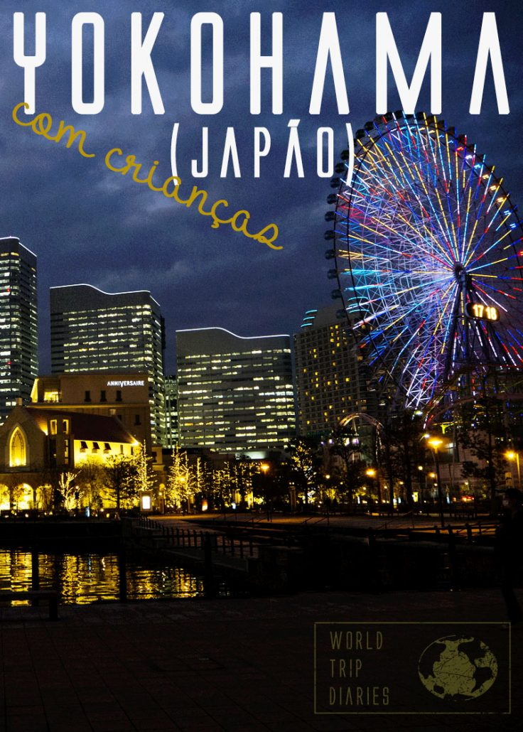 Yokohama é uma das cidades mais lindas do Japão, fica perto de Tóquio, e tem de tudo! Lugar maravilhoso para incluir no itinerário do Japão!