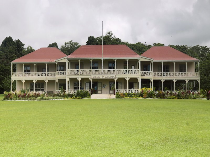 The Robert Stevenson Museum in Samoa - great for fans of the Scottish author of Treasure Island!