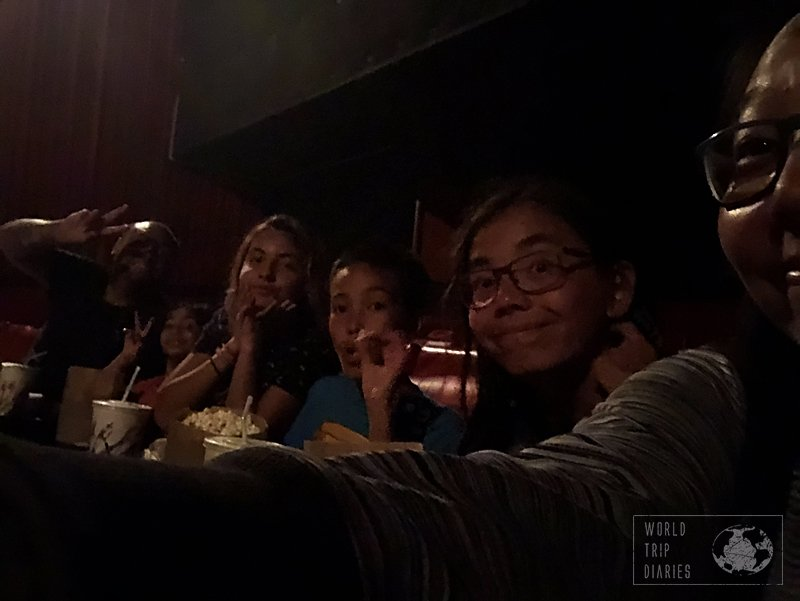 A family movie night in Samoa: yes! There's one movie theater in Apia! Click for more!