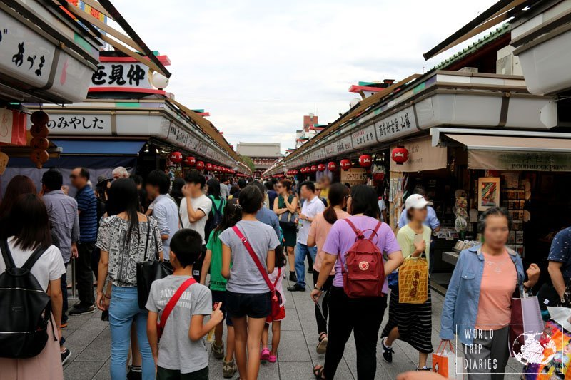 Before you reach the temples of Asakusa, you must cross Nakamise (the street shopping mall) and, if you like all things Japan, you'll find it hard to pass through without buying anything. Find out more!