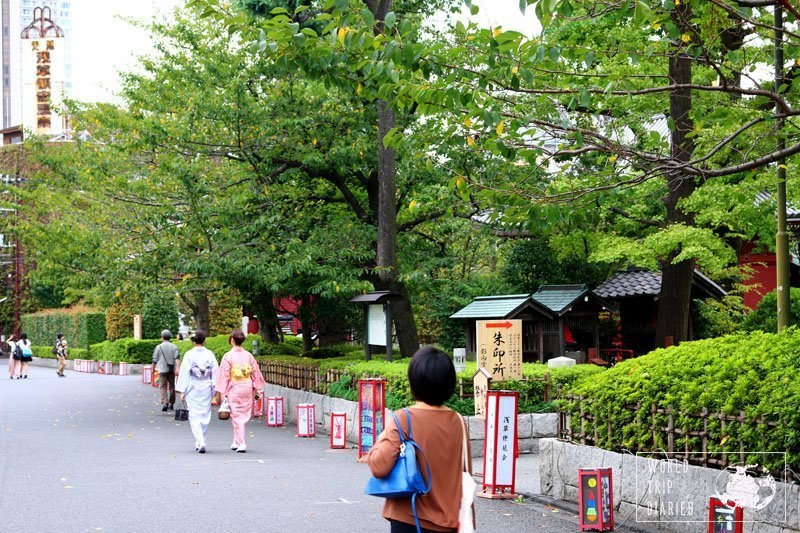 There's a lot to see around Asakusa, in Tokyo. It's a must visit! Click for more!