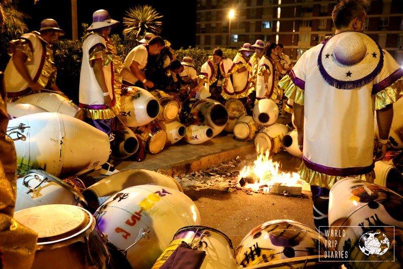 drums carnaval montevideo uruguay