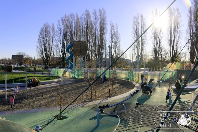 Margaret Mahy Playground, Christchurch (NZ) is probably one of the greatest playgrounds in the world! For families, it's definitely a must!