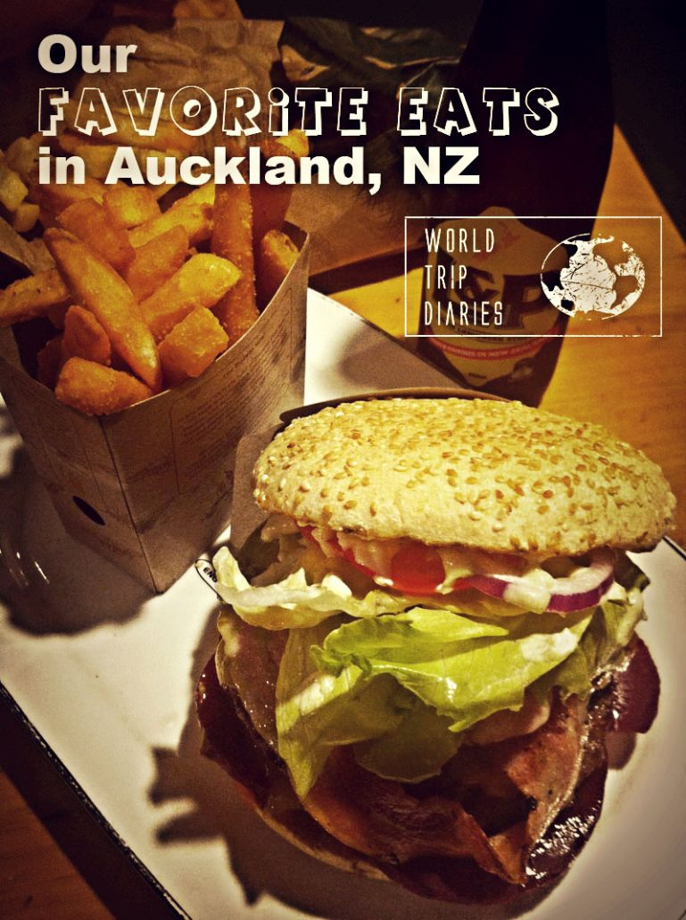 Eating is a huge part of any trip, so here are our favorite family friendly places to eat in Auckland (NZ)!