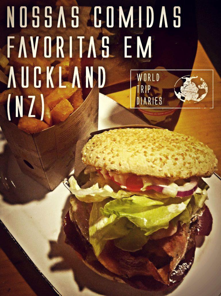 Para quem viaja, a comida é uma parte importante! Clique aqui para saber os nossos restaurantes favoritos em Auckland (NZ)!