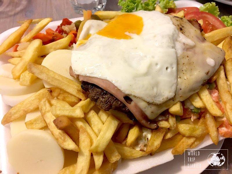 chivito uruguay food