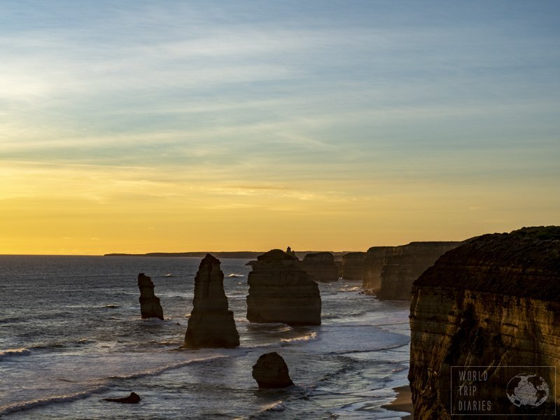 The Twelve Apostles are the main reason people do the Great Ocean Road (Australia). And it IS stunning. Make sure you visit as soon as you can - they may not be there for long.