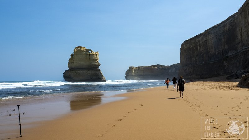 Take a moment to climb down the Gibson Steps and see the Twelve Apostles from the beach. It's a whole different experience! The earlier, the better!