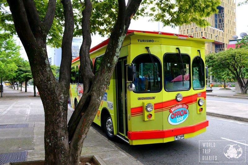 Turibus bus, Medellin, Colombia