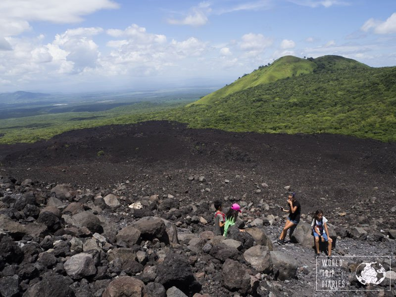 One of the most memorable experiences: climb an active volcano. What a stunning thing Cerro Negro was!