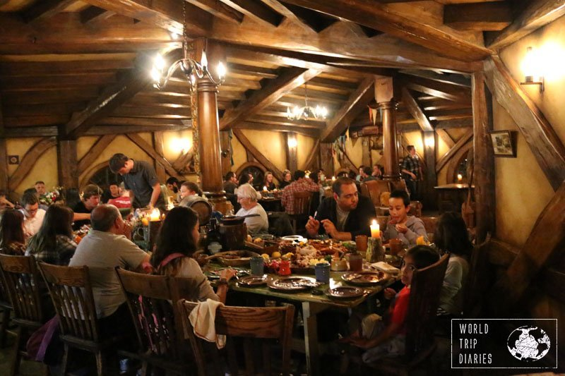 If you want to spend some more money for a unique experience, the Evening Tour with Dinner Banquet at Hobbiton is a must! It is highly family friendly too! Click for more!