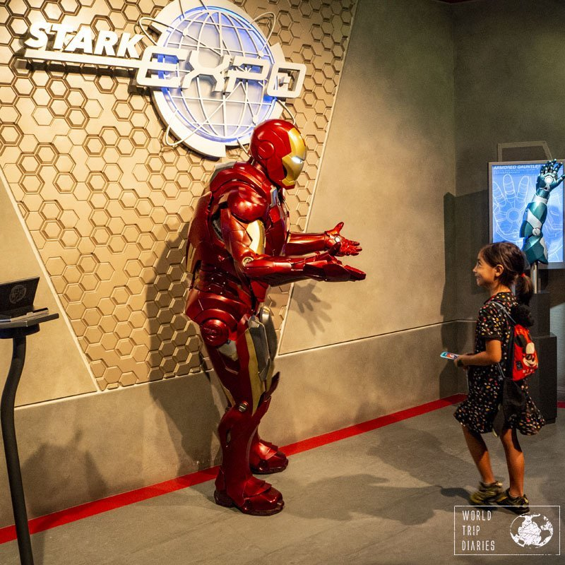 Some of the characters actually took their time to talk to the kids, ask questions, and answer their questions. They were the best - Ironman wasn't one of them, unfortunately.
