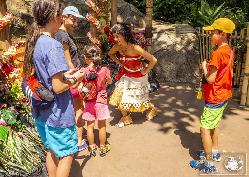 The characters at every Disney park are the best! Take the time to meet at least a few of them - they are worth it!
