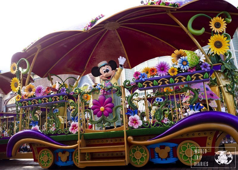 Springtime Festival, at Disneyland Hong Kong, is the parade made for spring. It's adorable and it's when Zootopia characters show up. Must see!