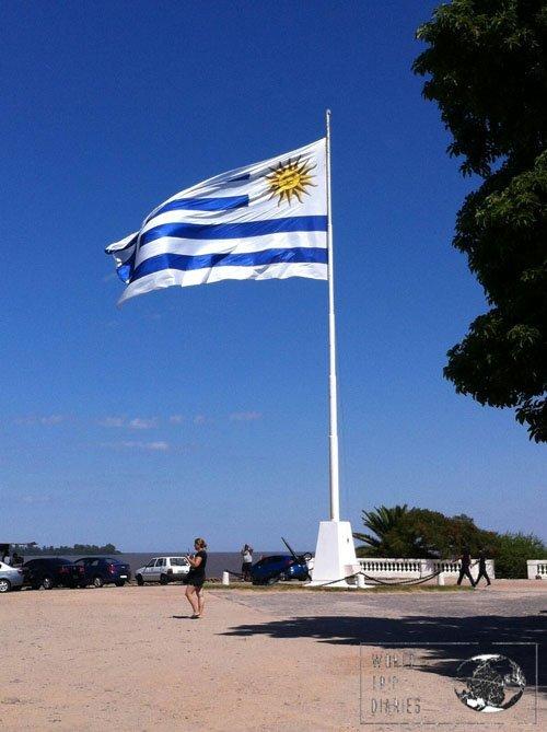 colonia del sacramento uruguay flag