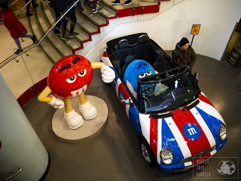 Do you like M&M's? If so, you should visit the incredible M&M's Store in London! It's huge and there's so much more than chocolate! Click for more!